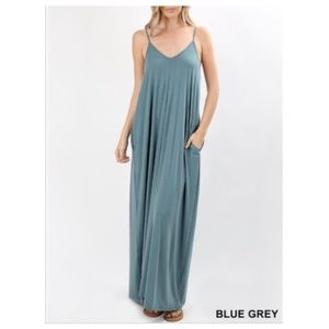 New! Oversized Cocoon Maxi Dress